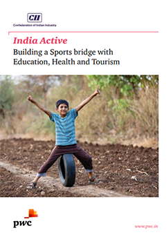 India Active, Building a Sports bridge with Education